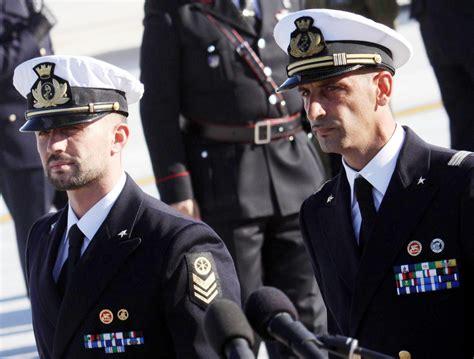uniforme otan mar 195 178 l india assicura quot niente pena di morte quot terzi