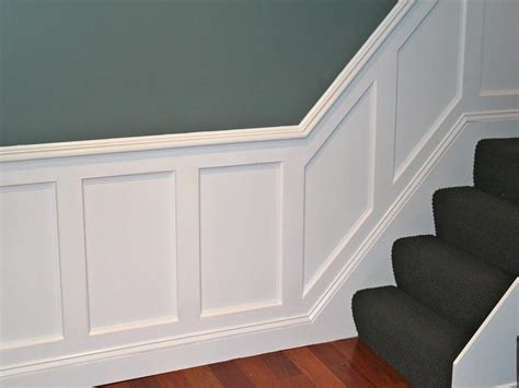 Putting Wainscoting On Walls Walls How To Install Wainscoting White Design How To