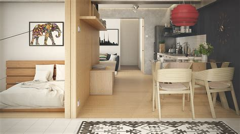 studio interior design ideas 5 small studio apartments with beautiful design