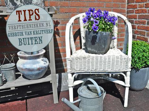 krijtverf voor buiten krijtverf buiten op meubels en accessoires verftechnieken