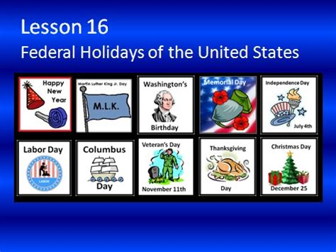 opinions on federal holidays in the united states