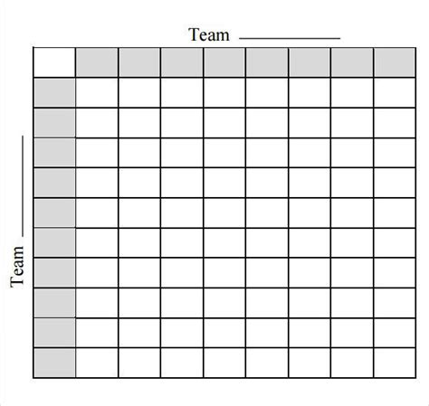 bowl spreadsheet template football pool template free premium templates