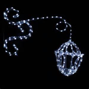 white led lantern silhouette outdoor garden christmas