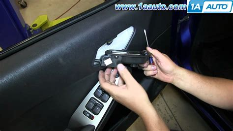 2008 saturn aura door lock actuator replacement how to replace install fix door lock switch 2005 10