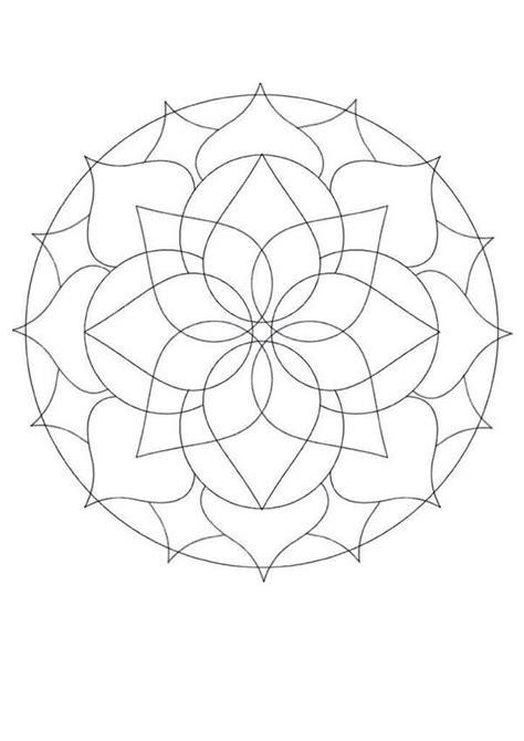 mandala coloring pages for beginners mandalas for beginners mandala 32