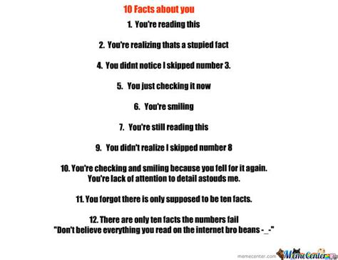 10 Facts On by 10 Things About You Quotes Quotesgram
