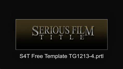 Free Premiere Pro Title Templates Shatterlion Info Free Premiere Pro Title Templates