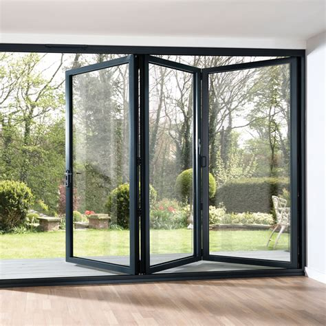 Folding French Doors Exterior The Door That Brings The Bifold Exterior Glass Doors