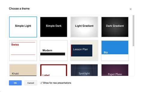 google slides custom themes customize a slide with layouts and themes docs editors help