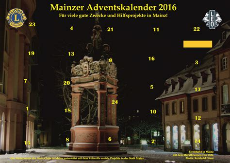 köbig mainz fliesen mainzer adventskalender