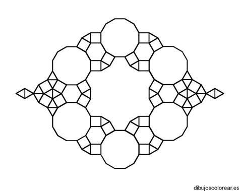 imagenes para colorear geometricas objetos con figuras geometricas para colorear imagui