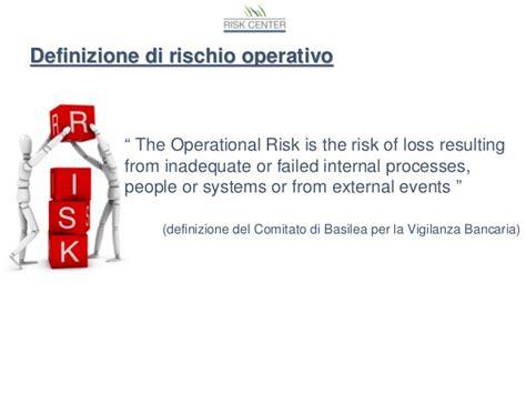 definizione di banca processi e rischi operativi in banca