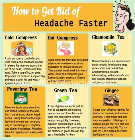 25 best ideas about home remedy for headache on