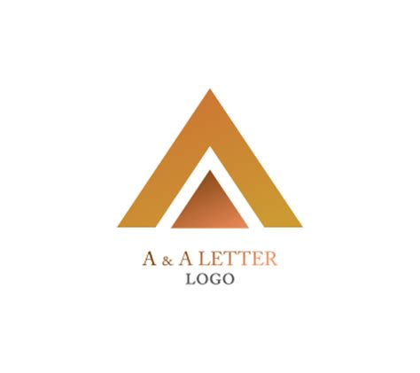 Letter With Logo A A Letter Alphabet Vector Logo Inspiration Alphabet Logos Vector Logos Free