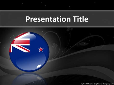 Free New Zealand Powerpoint Template Download Free Powerpoint Ppt New Powerpoint Templates