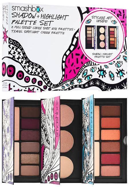 smashbox holiday  palettes sets beauty trends
