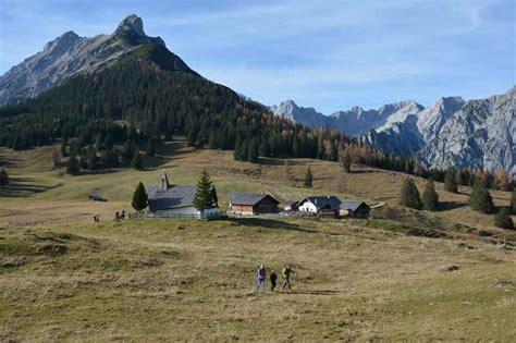 Hütten In Tirol h 252 tten und almen in tirol karwendel und tuxer alpen
