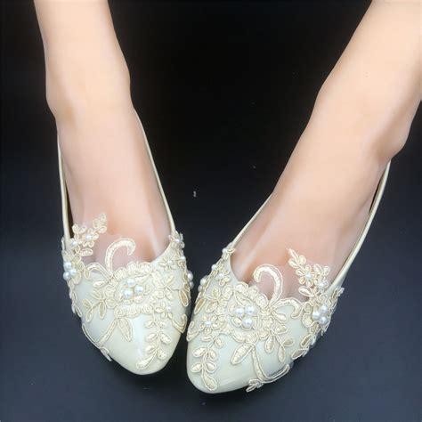 bridal shoes flats rhinestones chagne lace bridesmaids shoes rhinestone bridal shoes