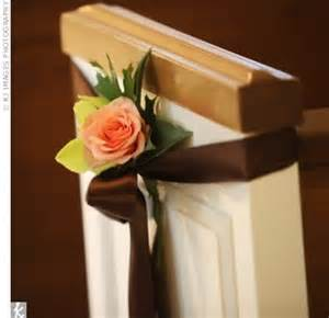 Smooth criminal church pew wedding decorations