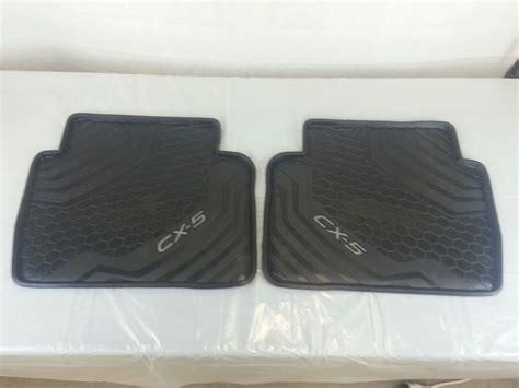 Mazda Cx 5 Car Mats by New Genuine Mazda Cx 5 Ke Rubber Floor Mats Cx5 2012 01