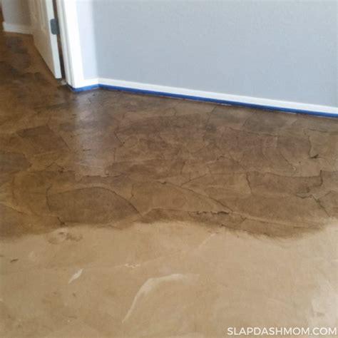 Easy Diy Flooring by Brown Paper Bag Flooring Tutorial Gurus Floor