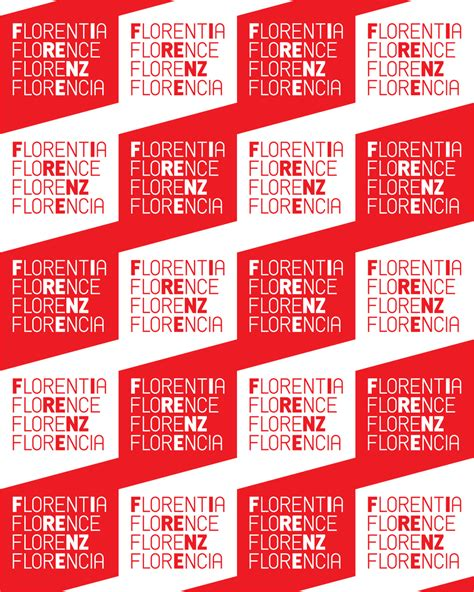 pattern brand logo brand new new logo for the city of florence by fabio