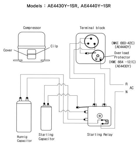 embraco compressor wiring diagram wiring diagram and