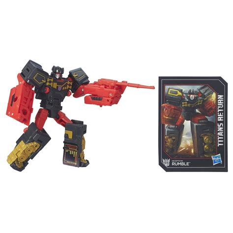 Titan Return Legend Class Ravage stock images transformers return legends class wheelie rumble ravage