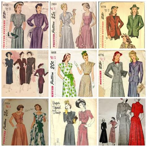vogue pattern history sewing with patterns a little sewing pattern history