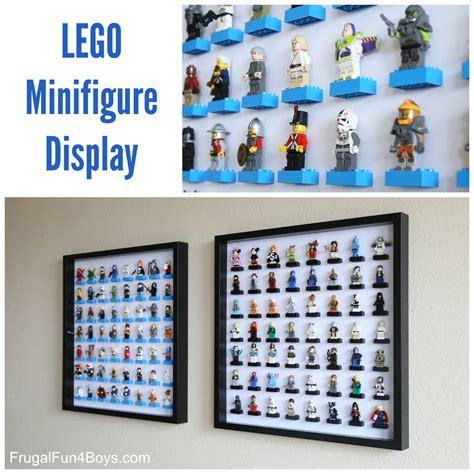 figure storage ideas ikea frame lego minifigure display and storage frugal