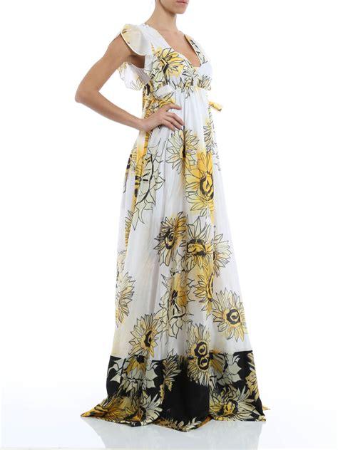 Printed Silk Dress n 176 21 printed silk dress maxi dresses h281