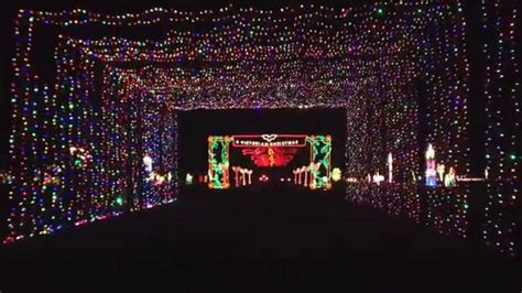 christmas lights you drive through in nj grand prairie light tunnel