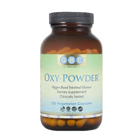 Oxy Overall oxy powder is believed to be the colon cleanser health changing