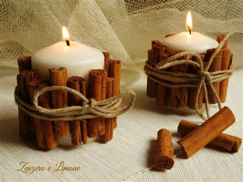 candele in casa candela fatta in casa alla cannella zenzero e limone