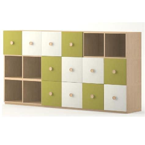 meuble de rangement 18 casiers meubles rangement