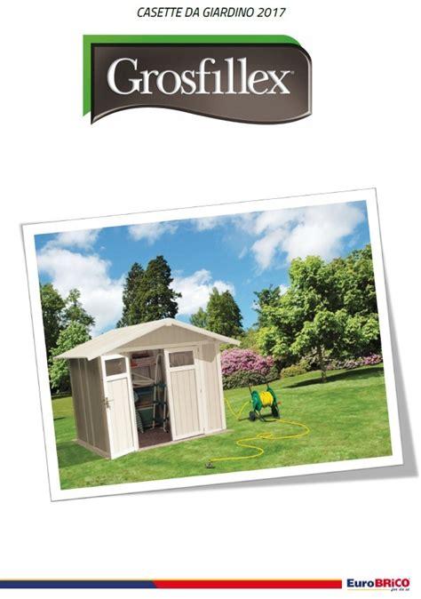 offerte giardino auchan volantino brico grossfillex casette da giardino