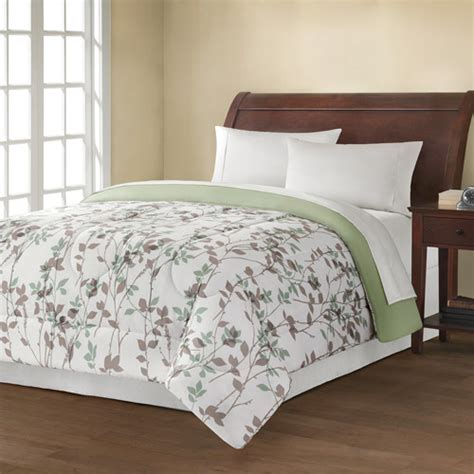 leaf comforter mainstays reversible comforter collection leaf vine