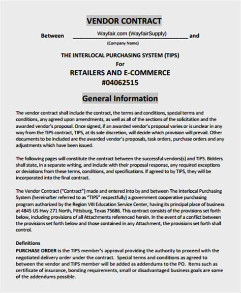 100 terms and conditions for purchase order template