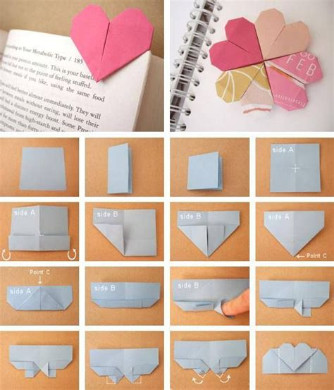 Easy Origami Bookmark - diy origami bookmark origami