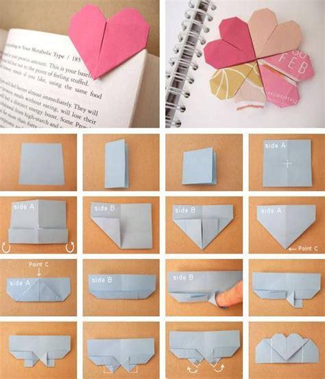 Cool Origami Bookmarks - diy origami bookmark origami