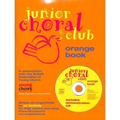 Cd Gesang The Best By Club junior choral club orange book mcnally jo msnov72520