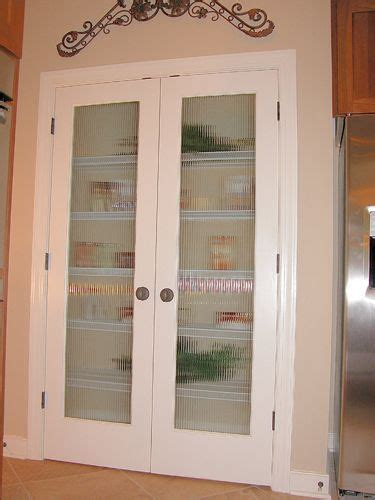 bi folding pantry doors  frosted glass google search