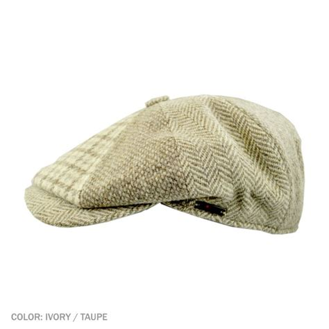 Patchwork Newsboy Cap - hats and caps hat shop best selection