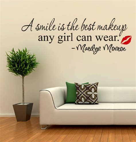 best wall sticker smile quotes wall stickers quotesgram