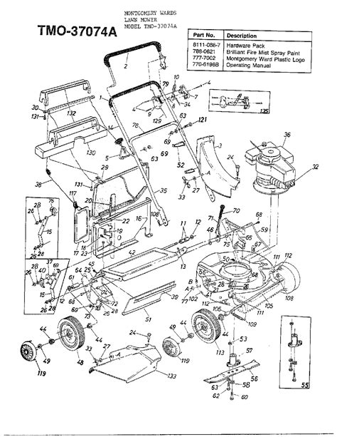 MTD 37074A gas walk-behind mower parts | Sears PartsDirect