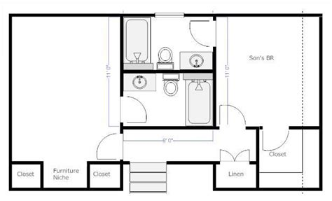 house plans with and bathrooms separate bathroom here s an idea for the home toilets kid and bathroom