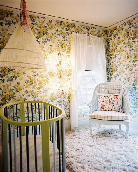 green wallpaper nursery 3 ways with wallpaper for kids rooms family living 2014