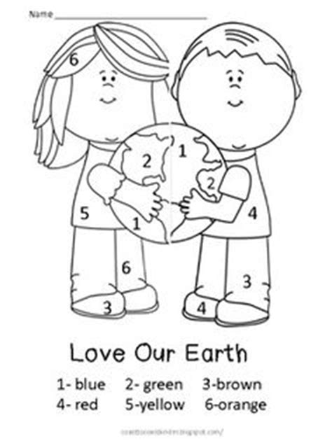 earth day coloring pages in spanish free earth day color by number 3 free printables fun