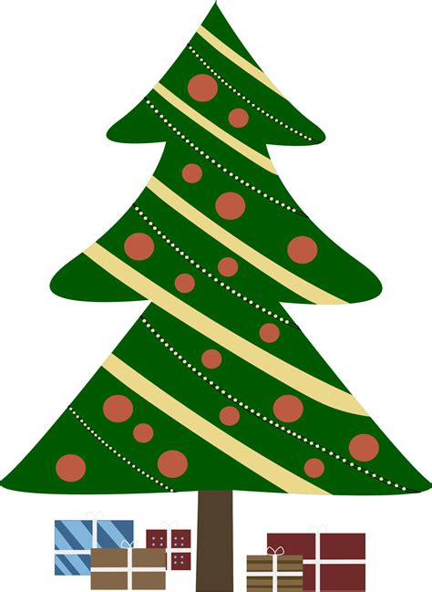 christmas tree cartoon ria9dedil public domain tree clip clipart best