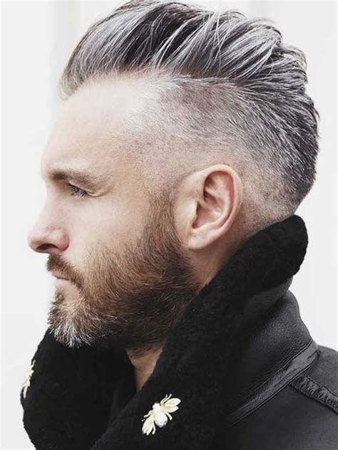 undercut hairstyles for men with gray hair tendencias de cortes de cabello para hombres 2015 angelo
